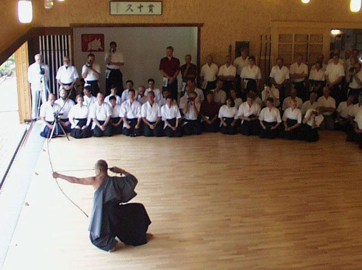 Japanese Kyudo, the 'way of the bow'.