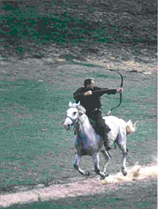 Parthian Shot demonstrated
